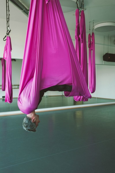 Aerial Yoga Galerie Studio One Tanz Yoga In München Jazz